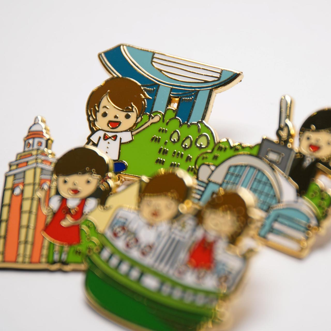 HKCC Pin – The Peak